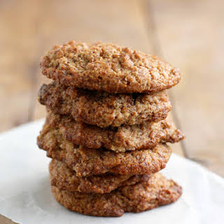 Chewy Almond Meal Cookies..