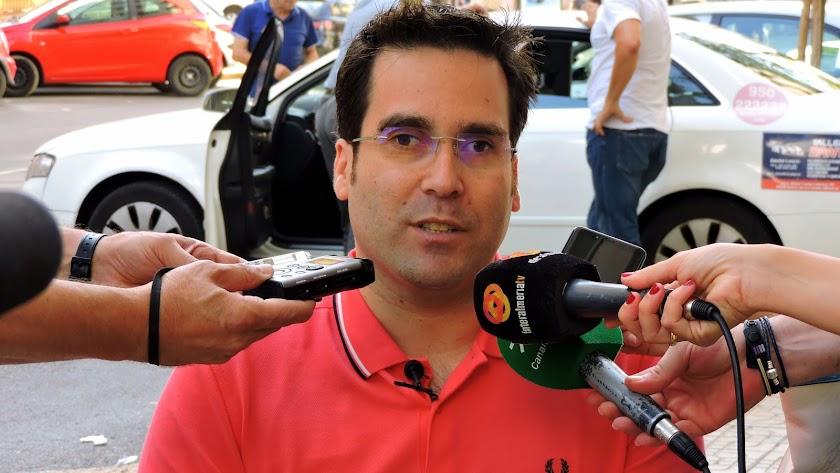 Pedro Díaz, concejal del Grupo Municipal Socialista