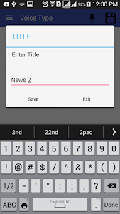 Voice Type - Speech to Text screenshot 2