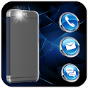Flash Alerts on Call, SMS icon