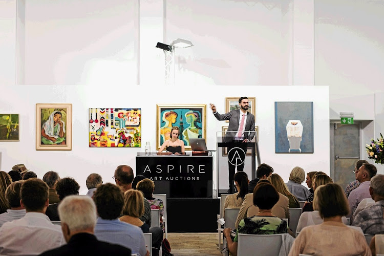 Generous offer: Auction house Aspire announced earlier in 2018 it would foot the bill for artists selling their works. Picture: SUPPLIED