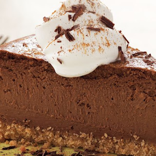 Mexican Chocolate Cheesecake.