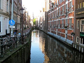 Photo: Back street canal view.