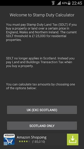 UK Stamp Duty Calculator