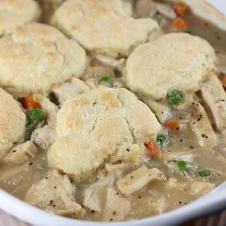 Chicken and Dumpling Casserole.