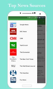 SentiNews: Good News Reader - náhled