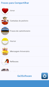 Phrases to Share in Portuguese screenshot 0