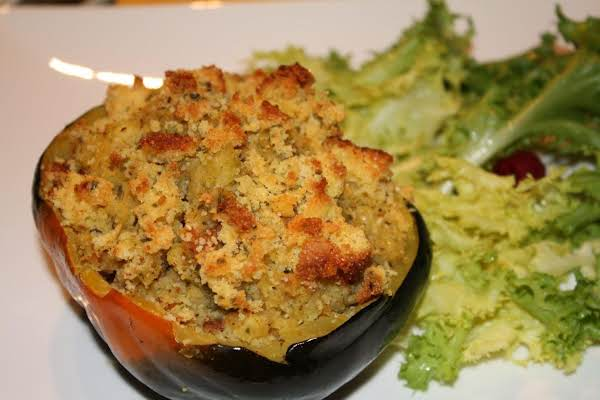 Stuffed Acorn Squash Halves Recipe