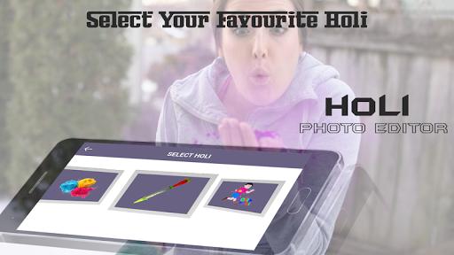 Holi Photo Editor 1.0 screenshots 4