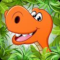 Kids puzzle - Dinosaur game icon