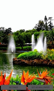 Fountains Beauty Live Wallpaper - náhled