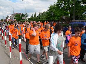 Photo: Około 500 młodych zawodniczek i zawodników rywalizowało ze sobą w konkurencjach sportowych w jubileuszowej X Parafiadzie Diecezji Płockiej, która odbyła się w Płońsku.
