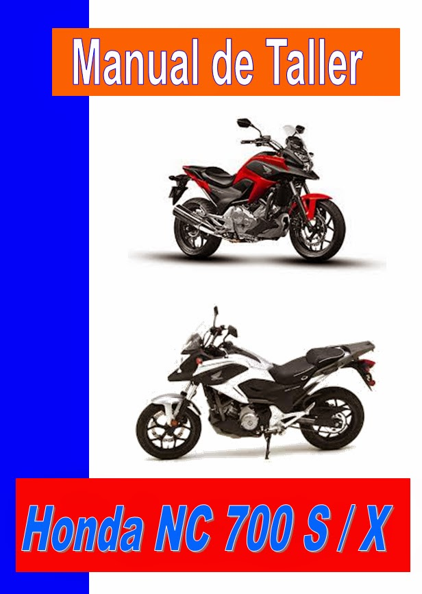 HONDA NC 700 manual-taller-servicio-despiece