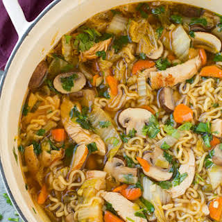 Asian Broth Noodle Soup Recipes.