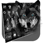 Polygon Wolf Keyboard Theme icon