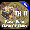 Maps COC TH 11 War Base icon