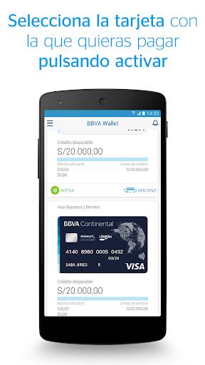 BBVA Wallet Peru00fa  screenshots 3