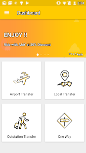 Amy Cab - Taxi Booking App - náhled