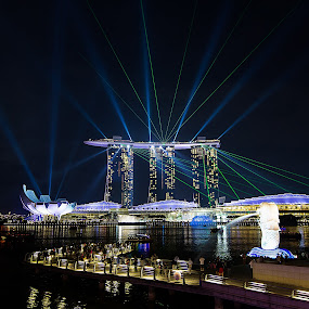 The Dancing Marina Bay sands by Bryan Sin - Buildings & Architecture Office Buildings & Hotels