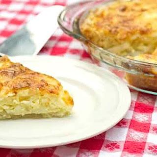 Jarlsberg Vidalia Onion Pie Recipe