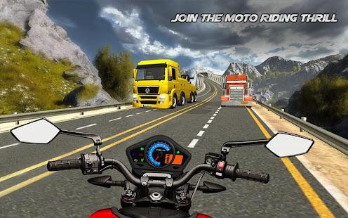Highway Bike Riding Free Bike Games - náhled