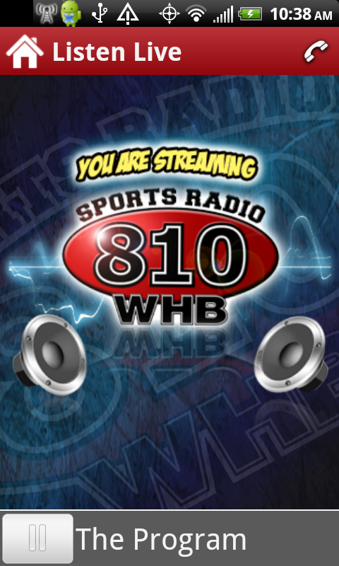 Sports Radio 810 WHB- screenshot