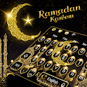 Gold Ramadan Kareem keyboard Theme icon