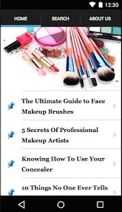 MakeUp Your Way Ekran Görüntüsü