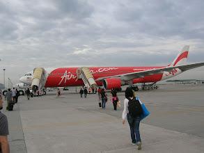 Photo: 10月29日早上8点在吉隆坡廉价机场登机