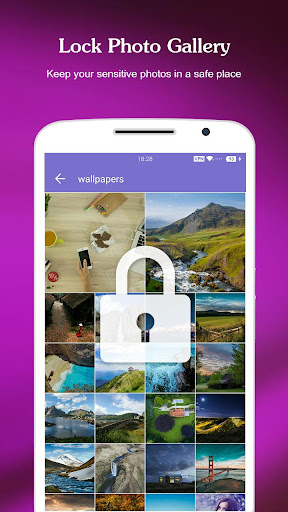 AppLock - Gallery Lock & LockScreen & Fingerprint 3.1.2 screenshots 2