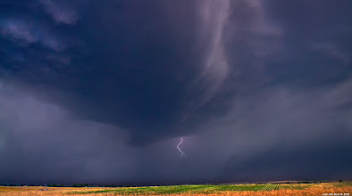 """Photo: """"Under Hell's Roof"""" Photo thoughts--- This past Wednesday myself and +David Kingham headed out to the eastern plains for incredible day of storm chasing and photography. We both came away with so many photos it may take us literally months to process them all. This is one of the shots I have processed so far. Photographed in rural Logan county, Colorado we would stay with and follow this storm through several counties. I have always been very apprehensive of shooting with my tripod under the canopy of severe thunderstorms for obvious reasons so for this shot I decided to use my Sony's a550 high speed burst mode of 10fps and just go to town hoping I would get some lightning and yep! Got it! What you are looking at here is Mammatus clouds off to the far left and a shelf cloud above the lightning. What a scene it was and boy have I ever got a LOT of shots to share with you all. Stay tuned! ---John  #skysunday curated by +Randy Scherkenbach +Patrick Scherkenbach  #colorado #cowx #nature #naturephotography #landscape #landscapephotography #sundaysubtlelandscapes #lightning #thunderstorm #storm #plusphotoextract #photoplusextract"""