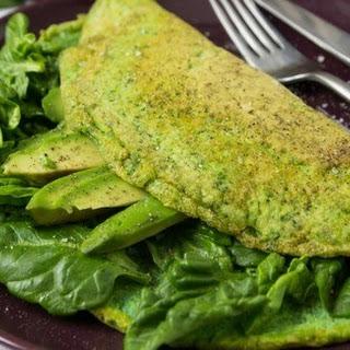 Green Omelette.