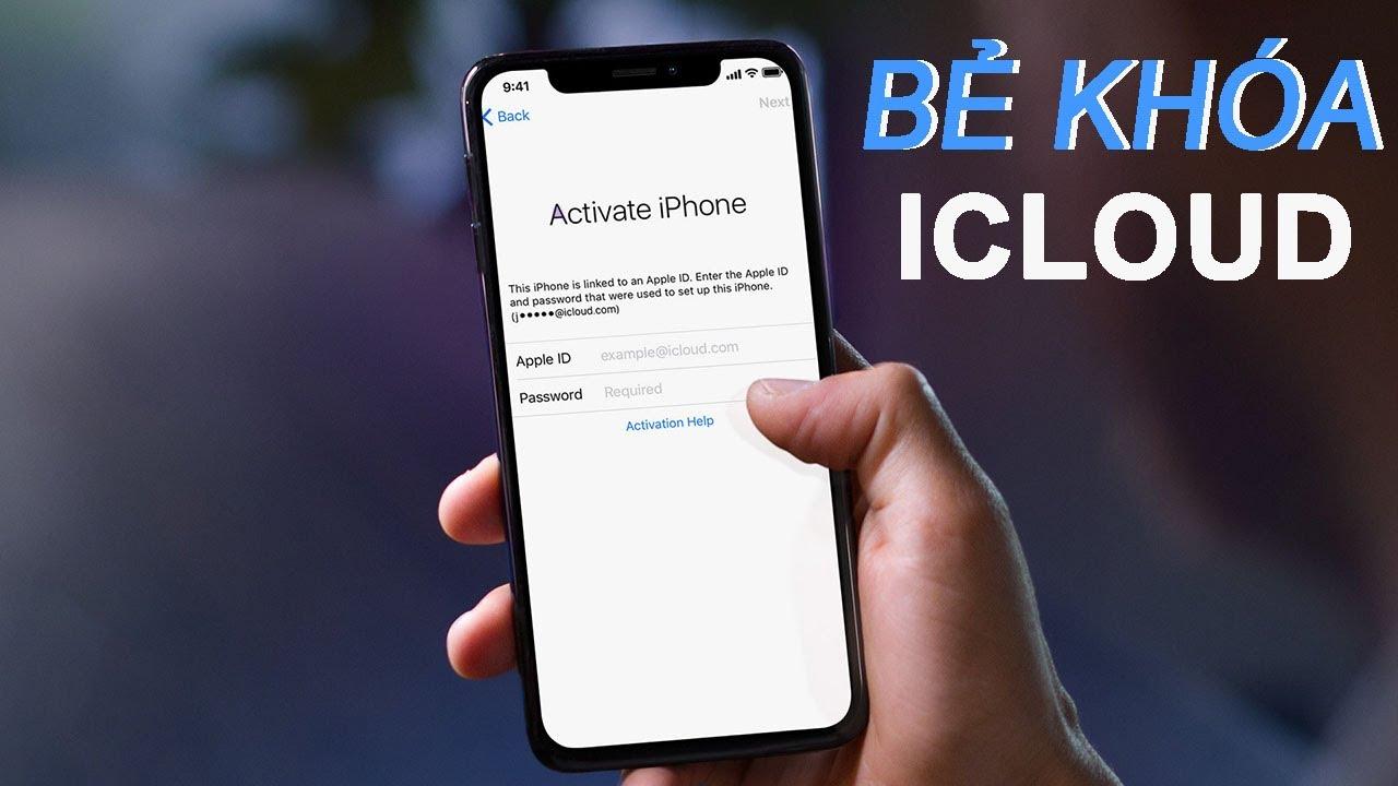 Sửa lỗi iPhone XS bị mất iCloud lấy ngay tại Hà Nội