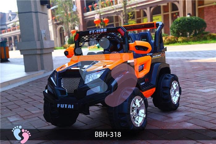 Ô tô điện trẻ em BBH-318 kiểu Police 8