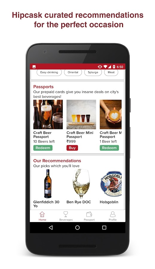 Hipcask - Wine, Beer & Whisky- screenshot