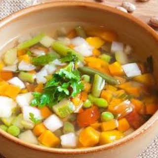 Healthy Mixed Vegetable Soup Recipes.
