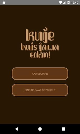KuJe - Kuis Jawa Edan 1.2.3 screenshots 1