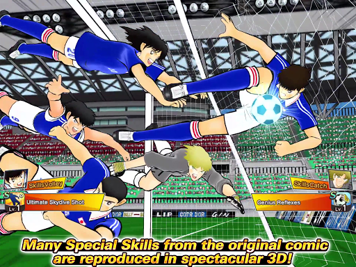 Captain Tsubasa: Dream Team apkpoly screenshots 9