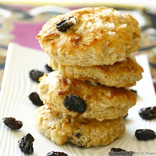 Buttermilk Cherry Scones.