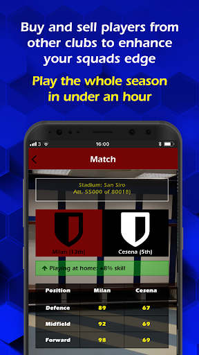 Retro Football Management 1.9.6 screenshots 3