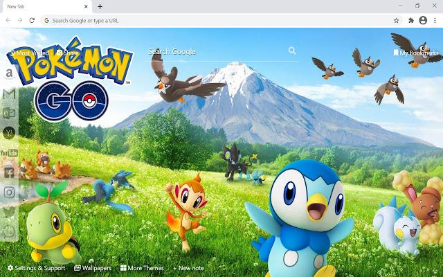 Pokemon GO Wallpaper HD New Tab
