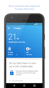 Triangle: More Mobile Data- screenshot thumbnail