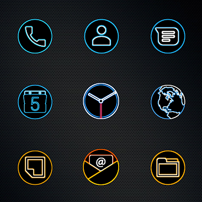 DARK PIXEL - HD ICON PACK Screenshot Image