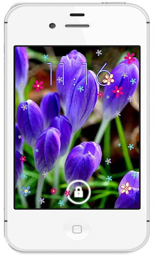 Crocus HD live wallpaper