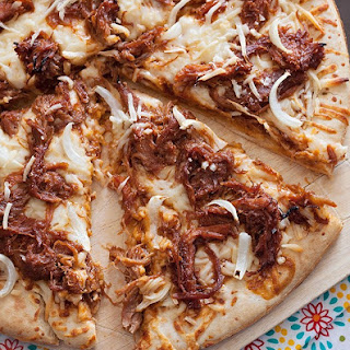 Pulled Pork BBQ Pizza.