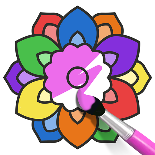 Coloring book & Paint Icon