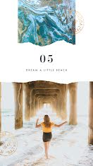 Dream a Little Beach - Photo Collage item