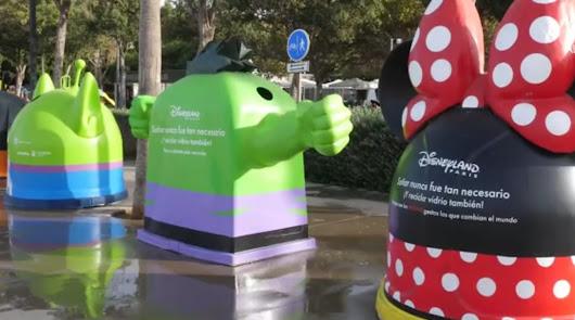 La magia Disney para reciclar llega a la ciudad y obsequiar con un viaje a París