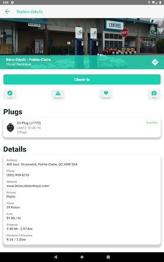 ChargeHub - Find EV & Tesla Charging Stations screenshots 12