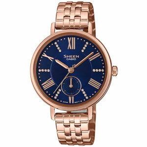 10 นาฬิกา CASIO สายเหล็ก สำหรับผู้หญิง